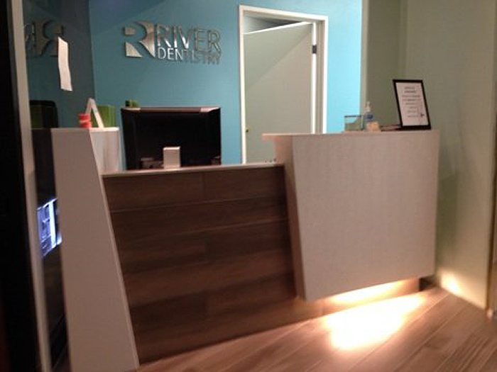 Newly Renovated Lobby at River Dentistry - Patients Favorite Downtown LA Dental Office