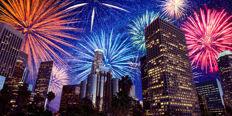 4th of july los angeles fireworks food and dental advice
