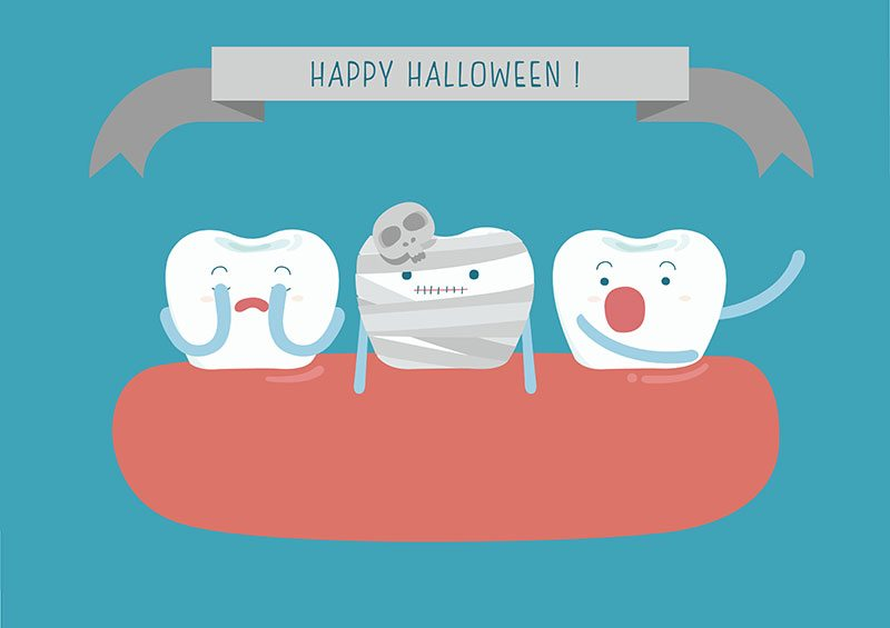 happy halloween downtown los angeles dentist dtla
